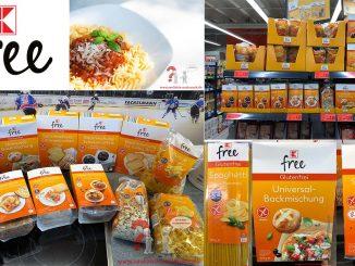 K-free Kaufland glutenfreie Produkte