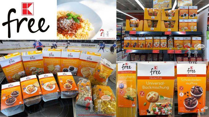 Neue glutenfreie Produkte bei Kaufland von K-free – Zöliakie Austausch