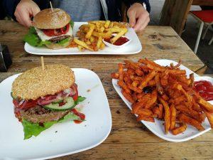 Glutenfreie Burger bei Freddy Schilling