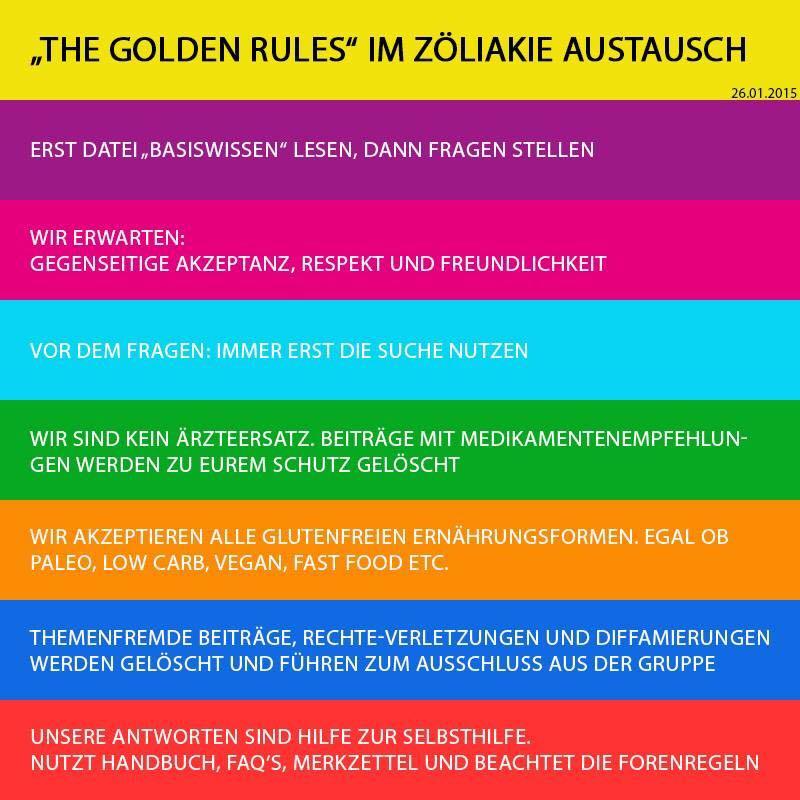 Regeln Zöliakie Austausch