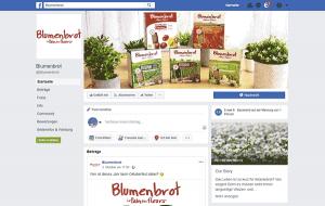 Blumenbrot Facebook Fanpage