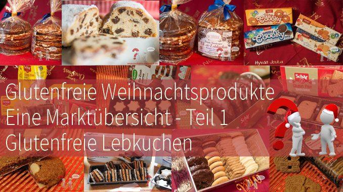 Titel glutenfreie Weihnachtsprodukte