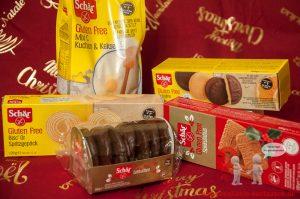 Glutenfreie Weihnachtsprodukte von Schär