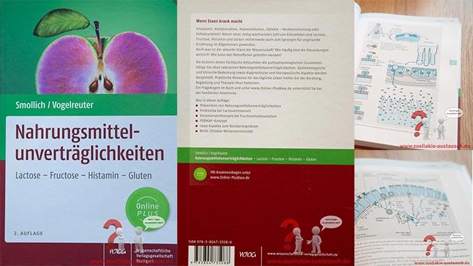 Fachbuch Nahrungsmittelunverträglichkeiten