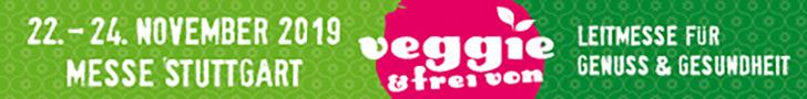 Banner Veggie & frei von 2019
