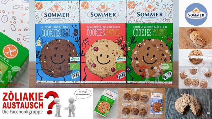Titel Sommer Cookies glutenfrei