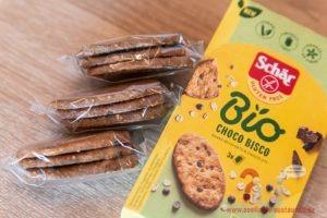 Schär Bio Bio Haferkekse mit dunkler Schokolade