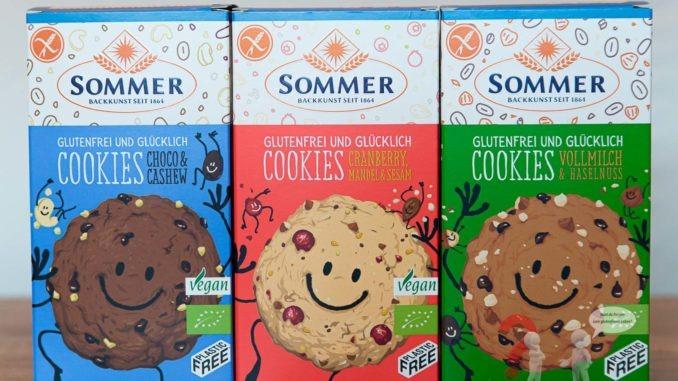 Glutenfreie Cookies von Sommr