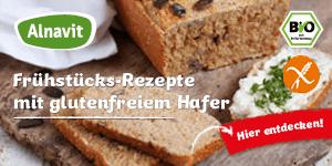 Alnavit Glutenfrei Frühstück