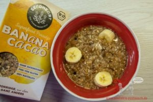 Banana & Cacao Porridge