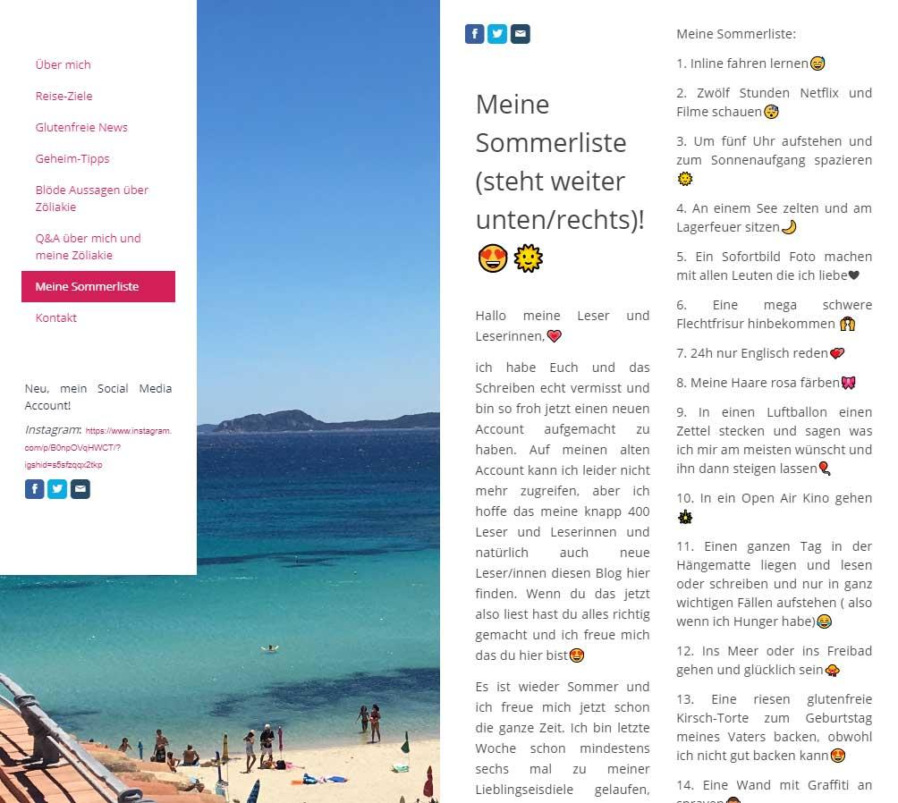 Lottes Reise Blog
