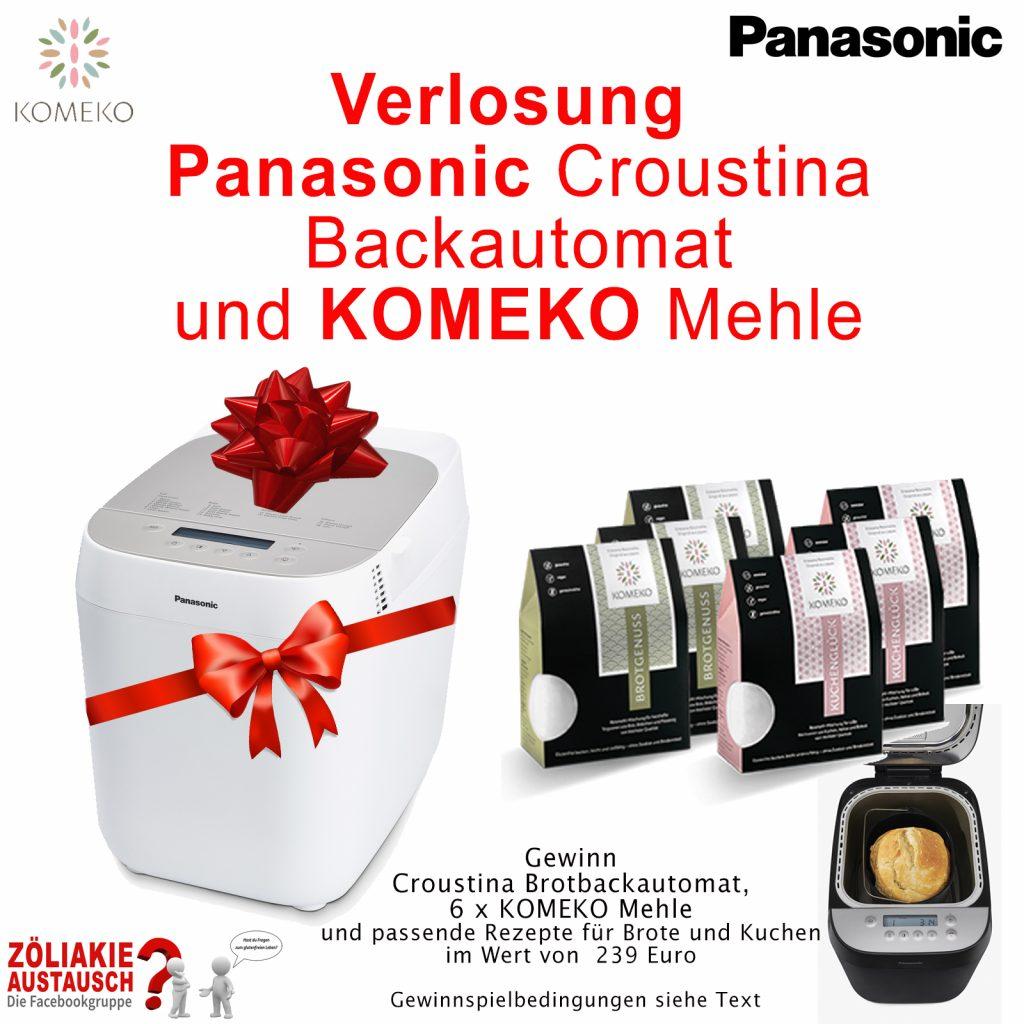 Gewinnspiel Croustina Panasonic Komeko