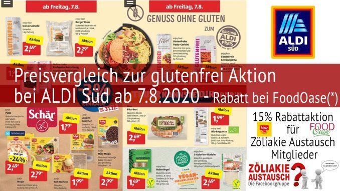 Header ALDI Süd Aktion August 2020