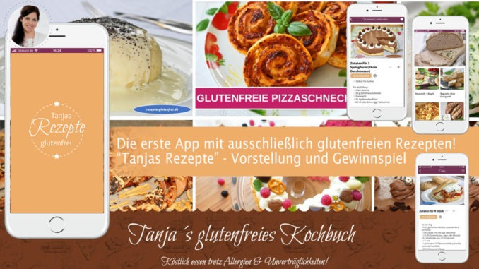 App Tanja glutenfreie Rezepte