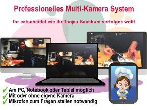 Online Backkurs mit Tanja