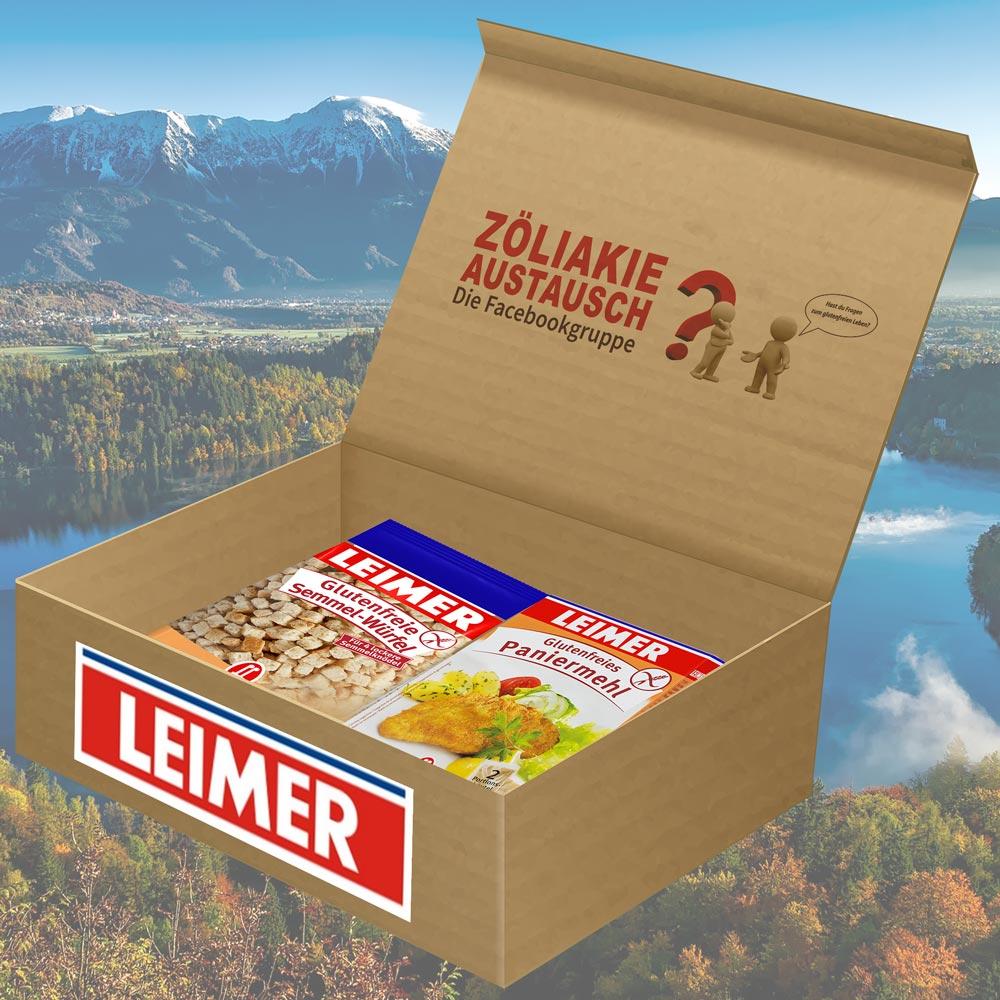 Glutenfreies Testpaket von LEIMER