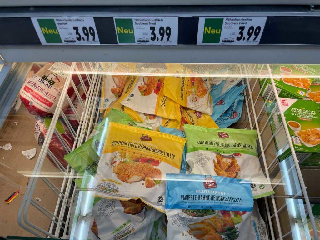 Rosies & Jim glutenfreie panierte Hähnchenteile bei Kaufland