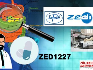 ZED1227 - Medikament Zöliakie